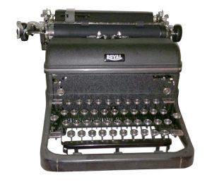 RoyalTypewriterBradbury