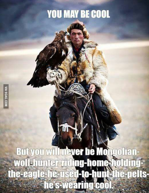 Mongolian Wolf Hunter
